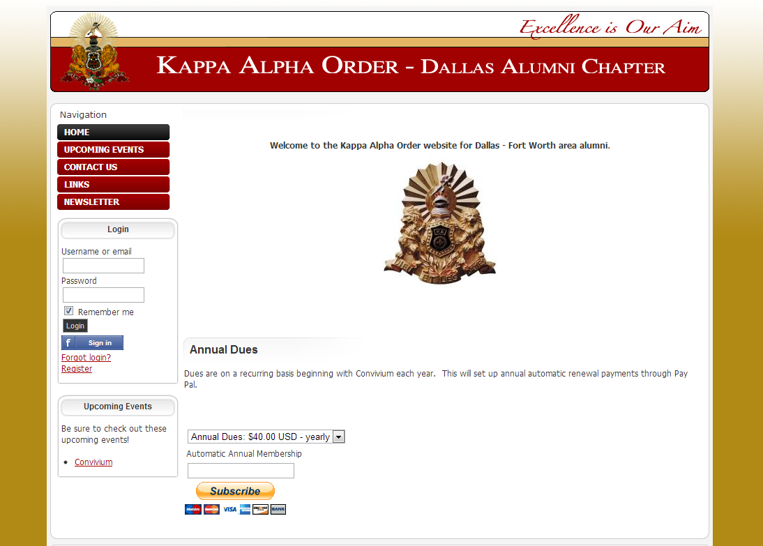 Kappa Alpha Order DFW Chapter